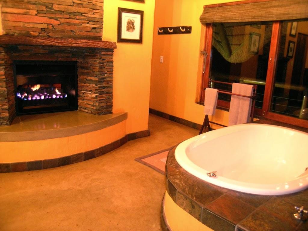 Salle de bain de la suite au Tuningi Safari Lodge – Afrique du Sud