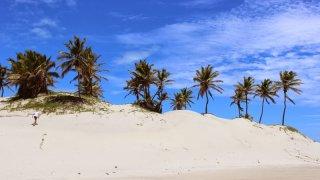 Dunes de sables blancs, Mangue Seco – Brésil