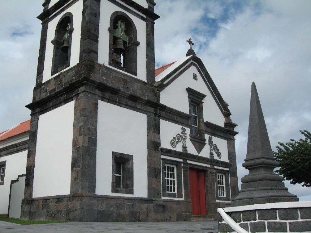 Eglise typique açorienne (Ribeira Seca – São Jorge) – Açores
