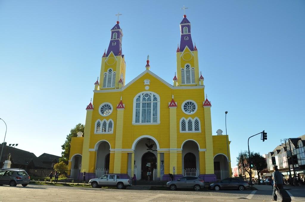 Un des nombreuses églises de Castro – Archipel de Chiloé