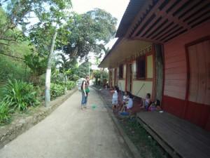 Conversation avec les habitants – El Castillo – Nicaragua