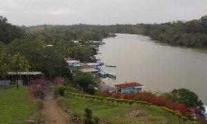 Vue d´El Castillo depuis la fortaleza – Nicaragua