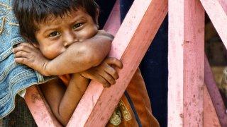 Enfant de la communauté Namuwoki