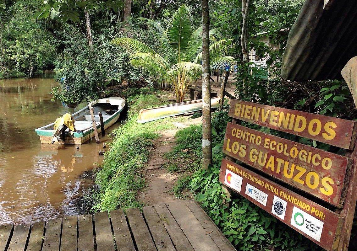 Entrée Réserve naturelle Los Guatuzos – voyage au Nicaragua