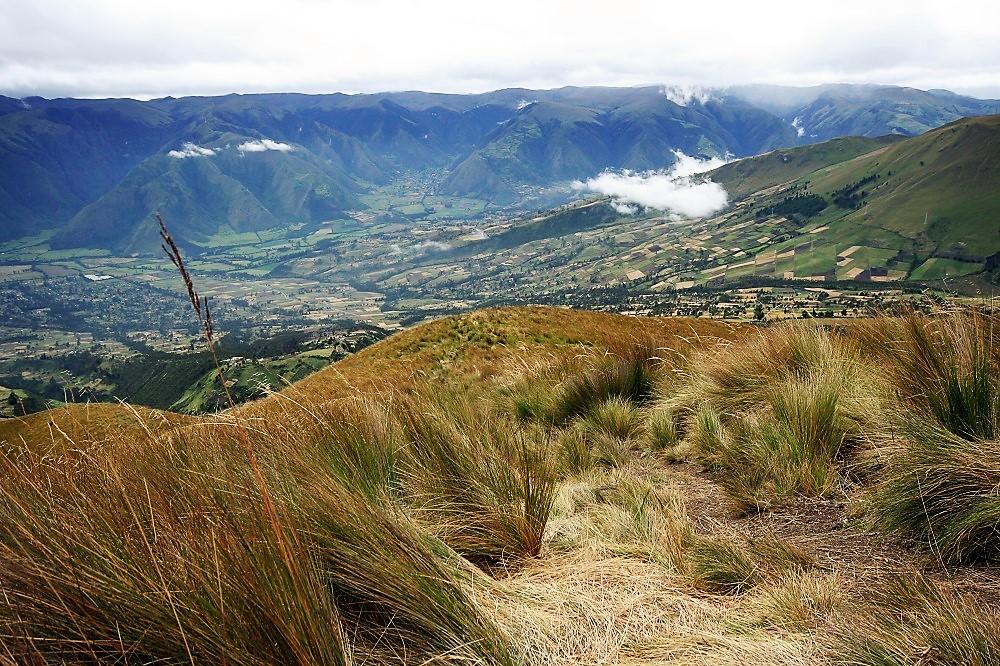Paysages des Andes en Equateur