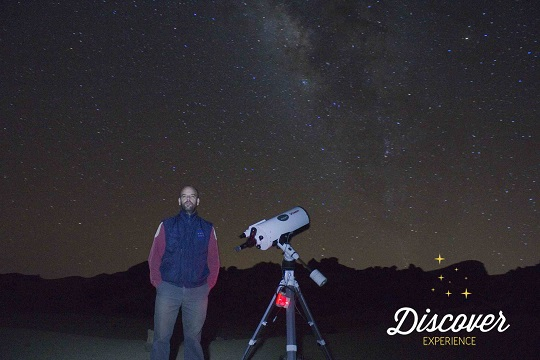 Eric sous les étoiles – Tenerife, Espagne