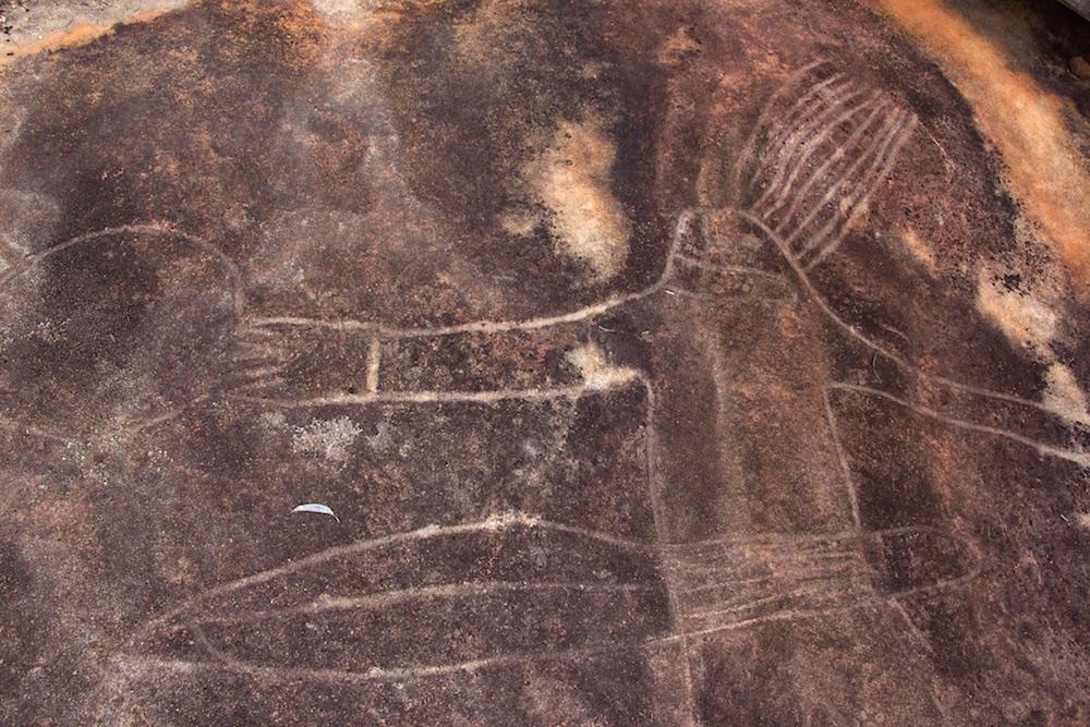 Estampe aborigène – Australie