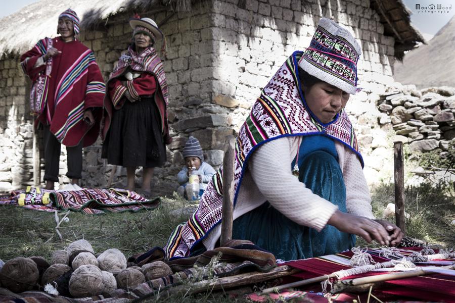 Eugenio et sa famille – Chez les Kallawayas, Bolivie
