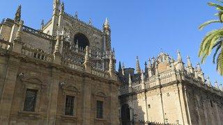 Façade de la Cathédrale de Séville – Andalousie
