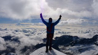Fin de la crête – Condoriri, Bolivie