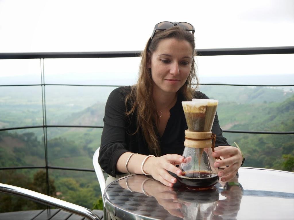 Filtrage du café – Colombie