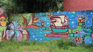Graffiti à São Jorge – Brésil