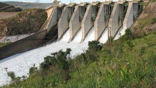 usine hydro-électrique de Furnas Brésil
