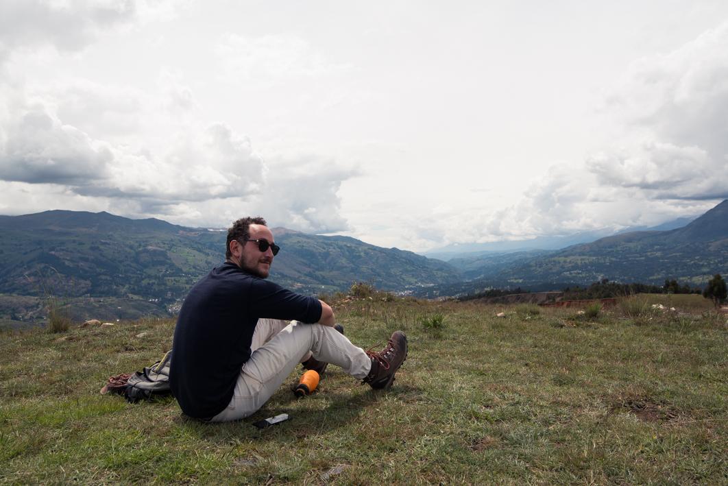 Vue sur la cordillére noire depuis le Mirador – Huaraz, Pérou
