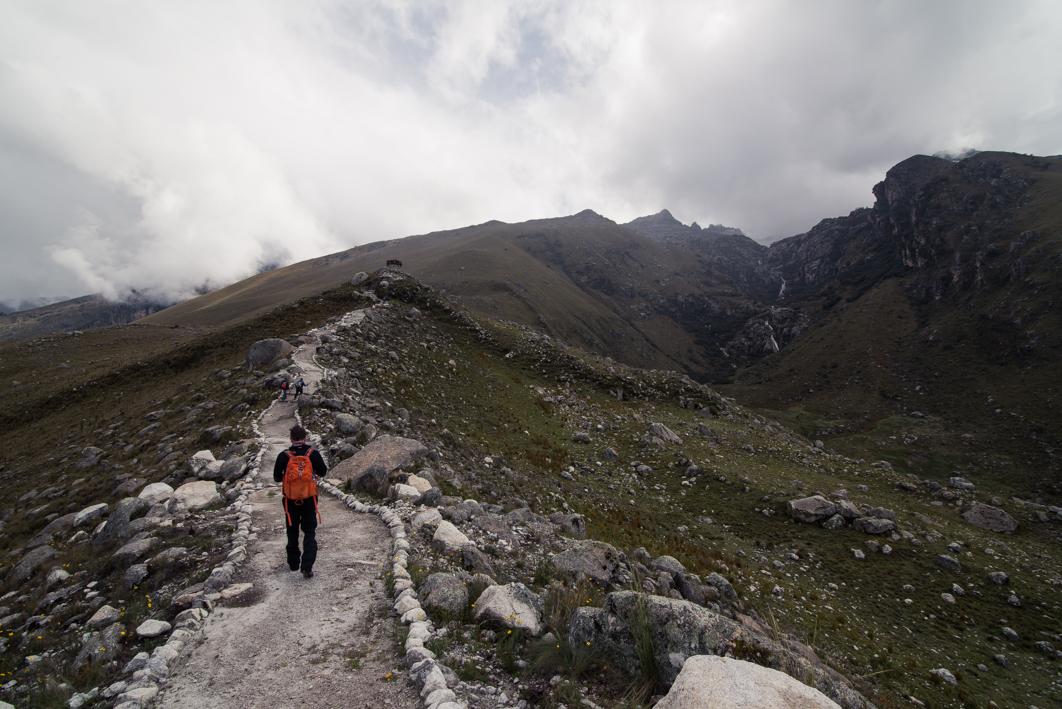 En marche pour la Laguna Churup – Huaraz, Pérou