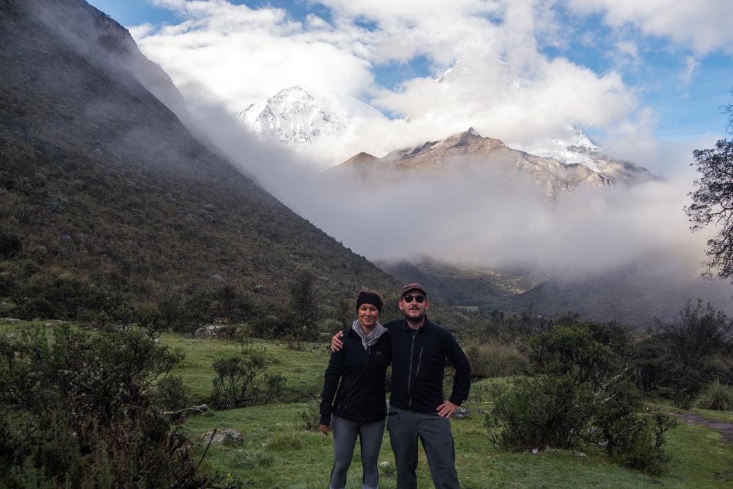 Le Huascaran en toile de fond – Huaraz, Pérou