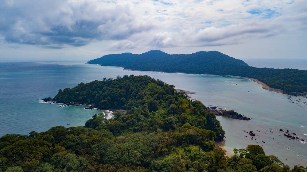 Voyage à l'ile de Gorgona en Colombie