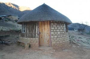 Voyage au Lesotho – village