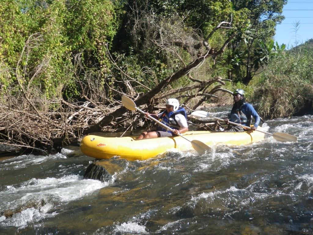 Rafting sur la rivière Sabie – Afrique du Sud