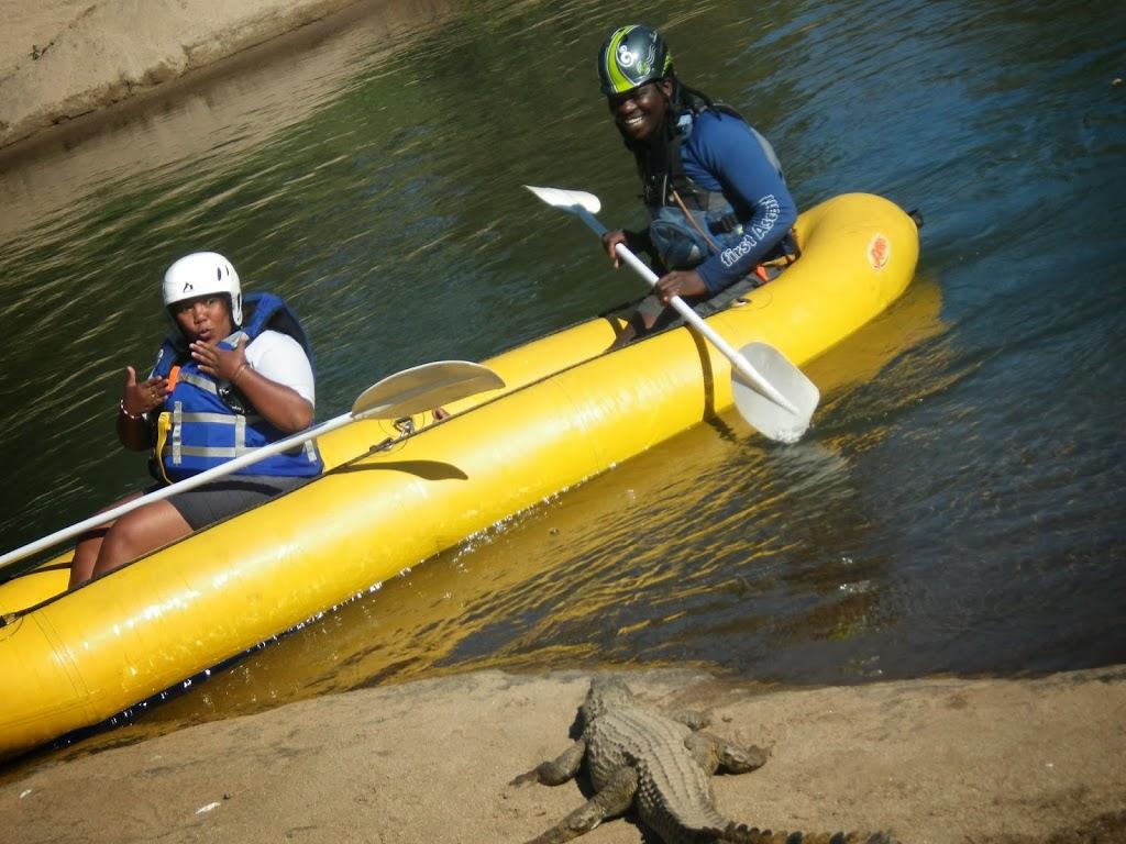 Rafting sur la rivière Sabie en compagnie de crocodiles – Afrique du Sud