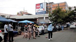 Jeunes danseurs à Fox Street, Maboneng
