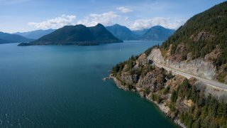 La route spectaculaire Sea to Sky Highway – Voyage Squamish, Vancouver – Terra Canada