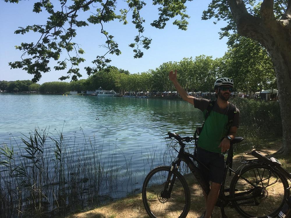 Le lac de Banyoles avec notre guide – voyage en Catalogne