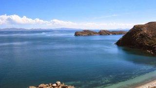 Lac Titicaca en Bolivie