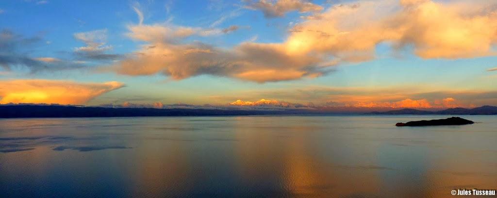 Lac Titicaca – frontière Bolivie Pérou