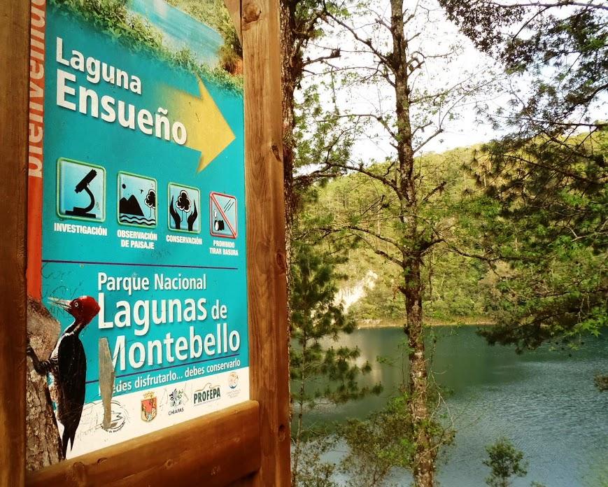 Lagunes de Montebello – Chiapas Mexique