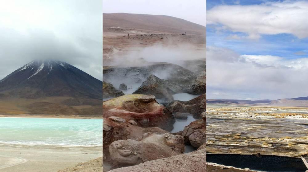 Lagunas Verde & Blanca, Geysers – Sud Lipez, Bolivie