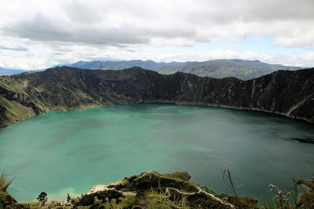 Lagune de Quilotoa – voyage dans les Andes en Equateur