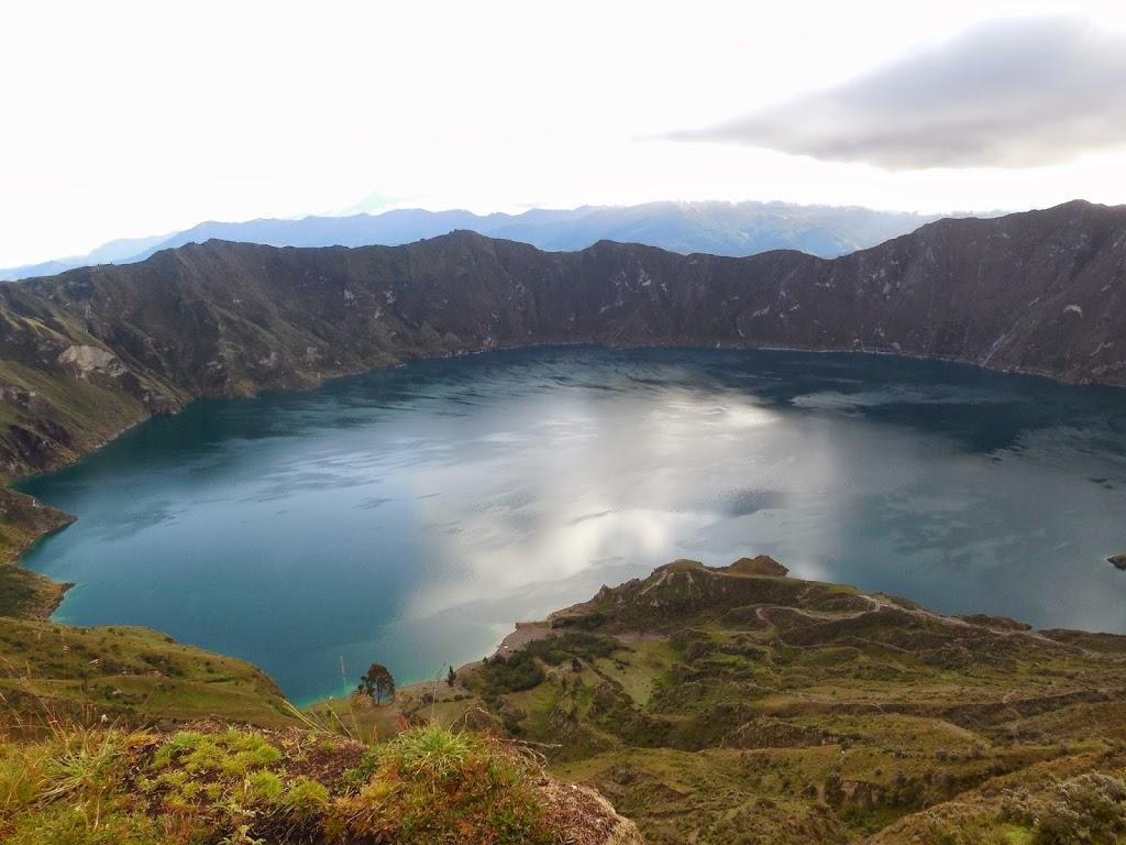 Laguna de Quilota – Cordillère des Andes, Equateur