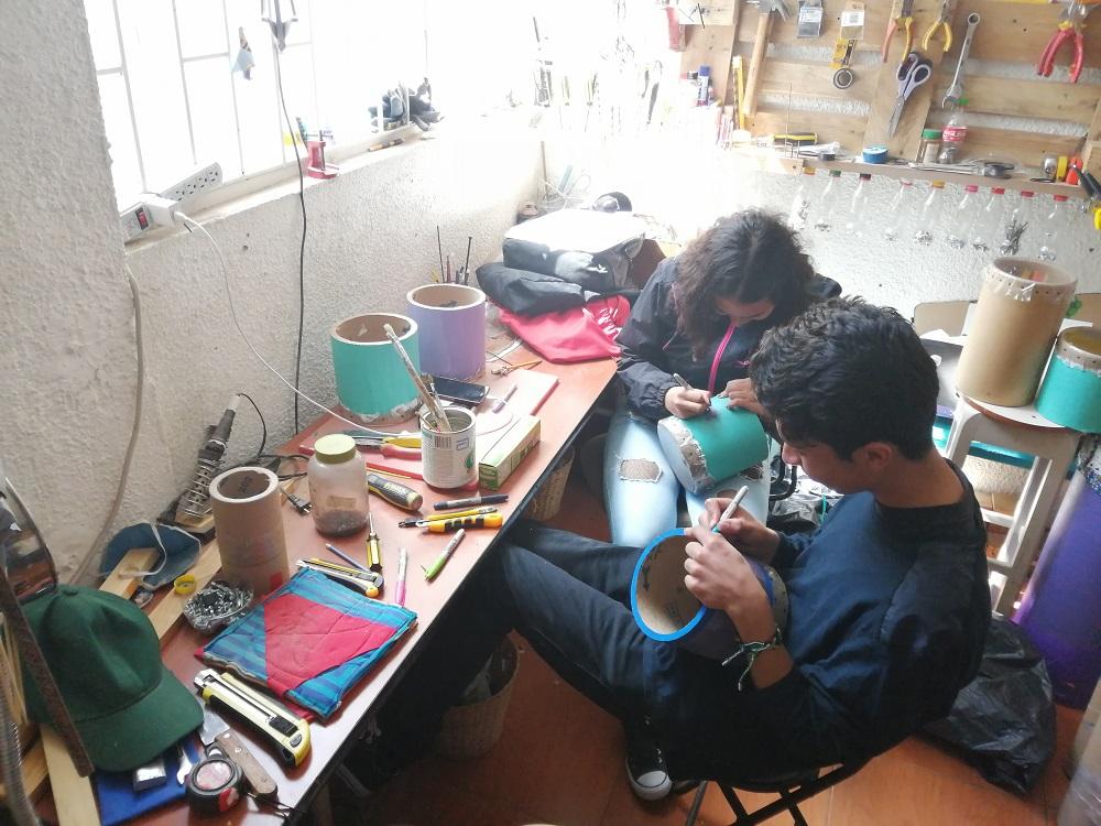 Atelier de création d'instruments