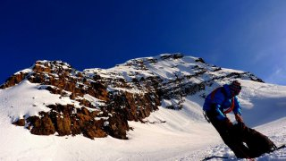 Le bas de la tête – ascension Condoriri, Bolivie
