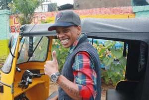 Lebo et ses tuk tuk à Soweto