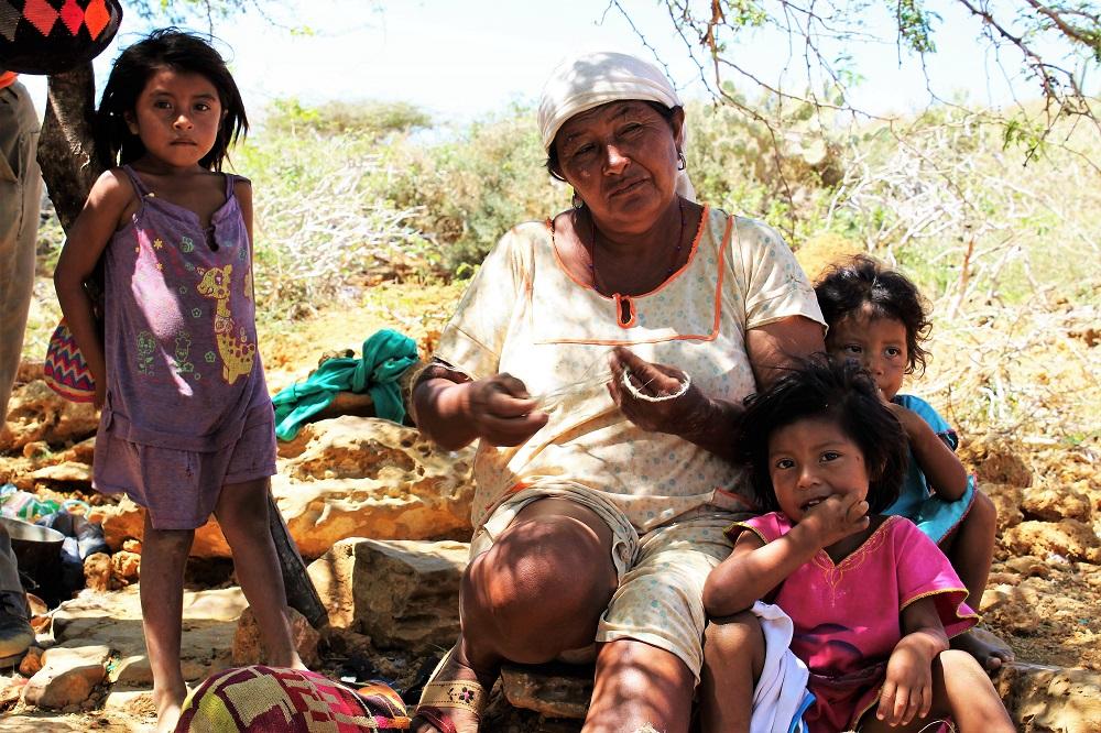 Les liens familiaux au sein de Wayúus sont très forts – La Guajira, Colombie