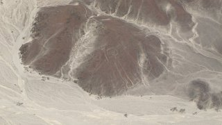 Les lignes de Nazca vue du ciel – Pérou