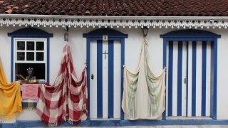 Maison typique de Pirenópolis – Brésil