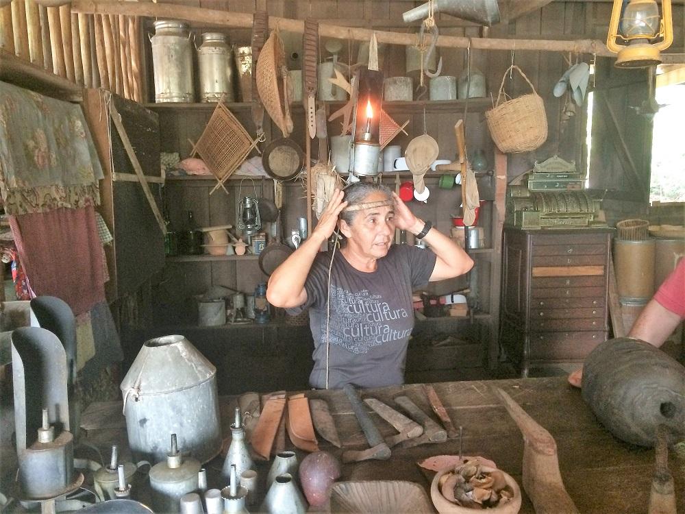 Musée du caoutchouc à Manaus