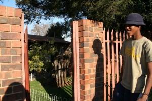 Entrée de l'ancienne maison de Nelson Mandela à Soweto