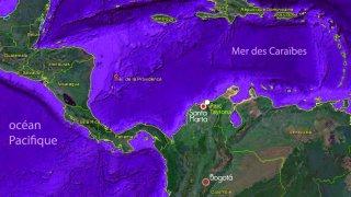 Carte de Colombie et de l'Amérique centrale – Santa Marta et le Parc Naturel Tayrona, carnet de voyage de Galvin, Terra Colombia