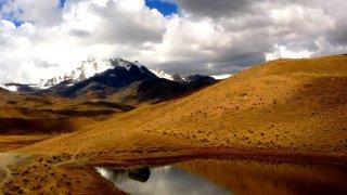Marche d'approche – Trekking Cordillère Royale, Bolivie