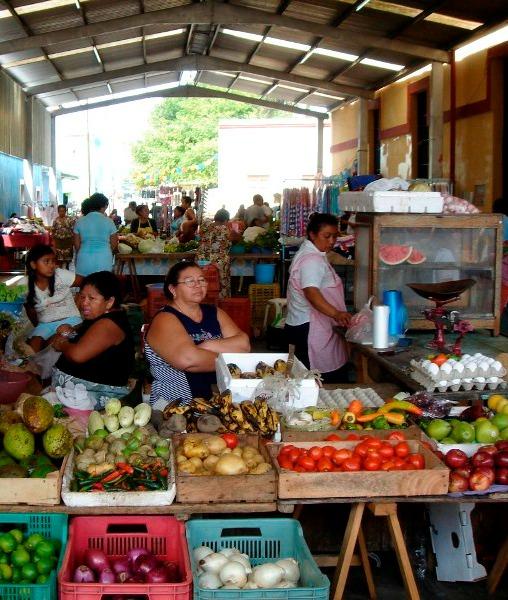 Marché de Uman – Yucatán, Mexique
