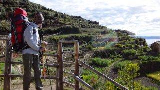 Marche Yampupata – îles Lac Titicaca, Bolivie
