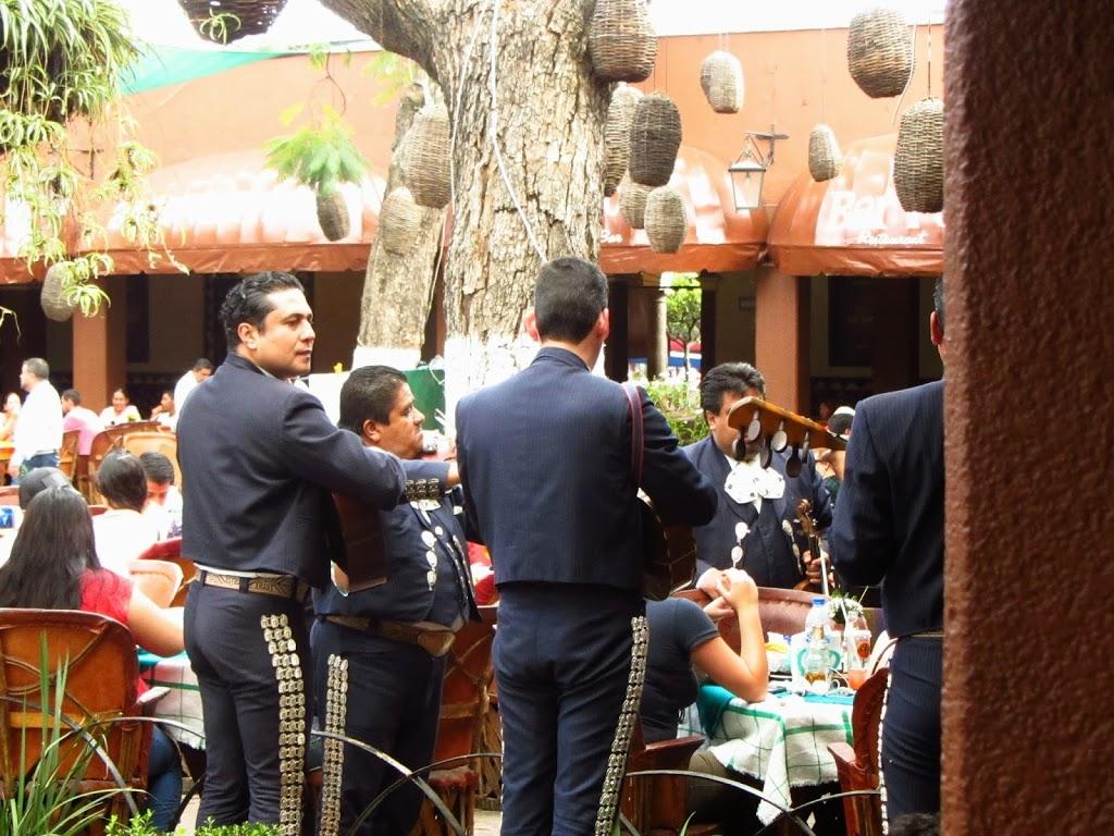 Mariachis à Tlaquepaque, Jalisco, Mexique