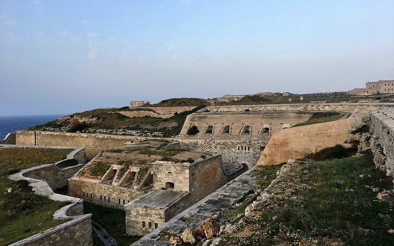 menorca – mahon – forteresse de la mola