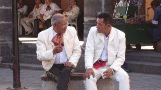 Mariachis dans le centre-ville de Guadalajara – Mexique
