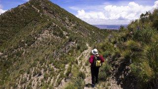 Milieu du trek – La Paz, Bolivie