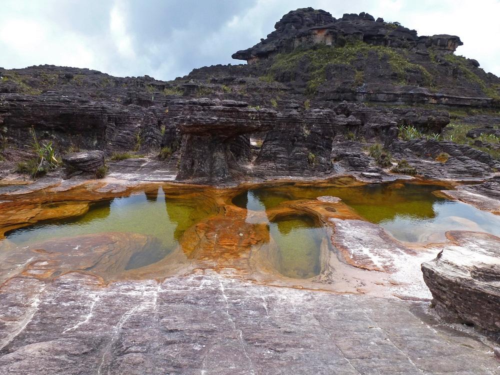 Monte Roraima – jacuzzis